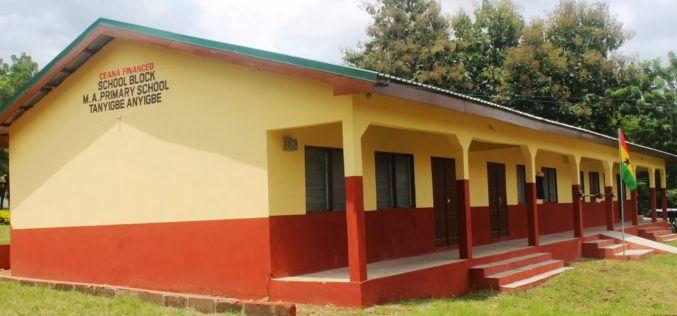 New school block for Tanyigbe-Anyigbe